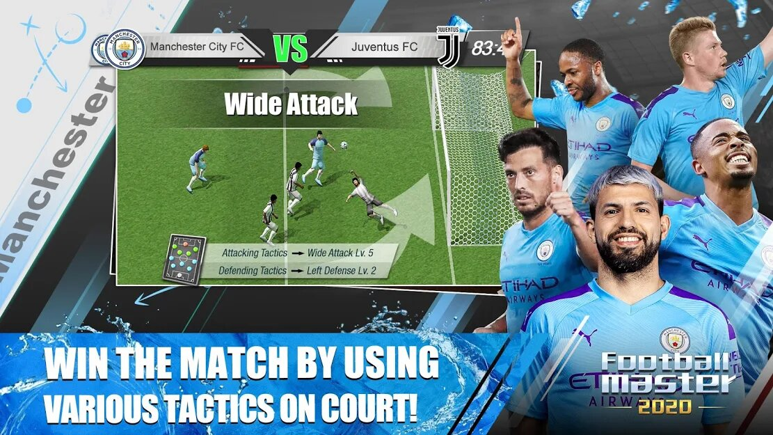 Скачать Football Master 2020 на Андроид — Мод (Много Денег) screen 1