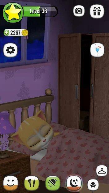 Скачать Моя Говорящая Кошка Эмма на Андроид — Мод (Свободные Покупки) screen 3