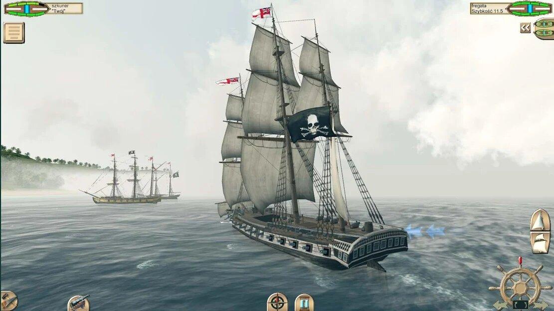 Скачать The Pirate: Caribbean Hunt на Андроид — Мод (Много денег) screen 4