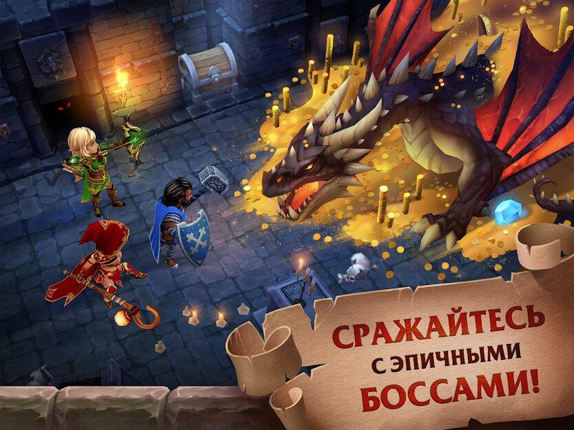 Скачать Forge of Glory на Андроид — Мод (Режим бога) screen 3