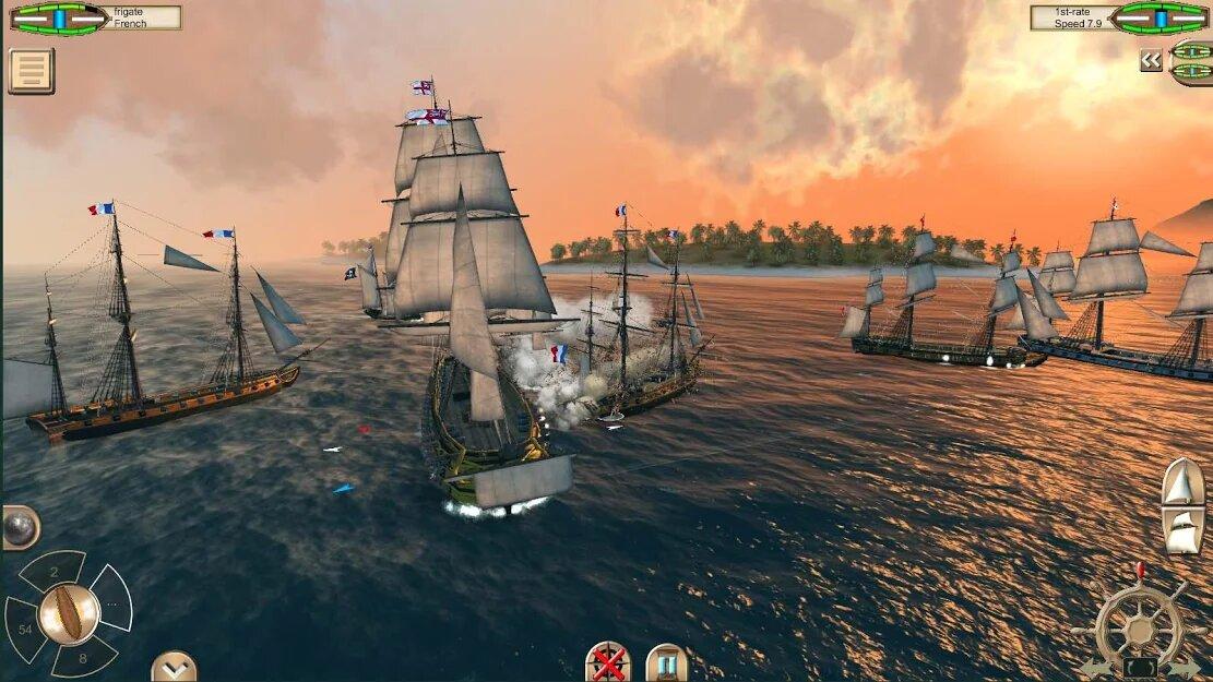 Скачать The Pirate: Caribbean Hunt на Андроид — Мод (Много денег) screen 2