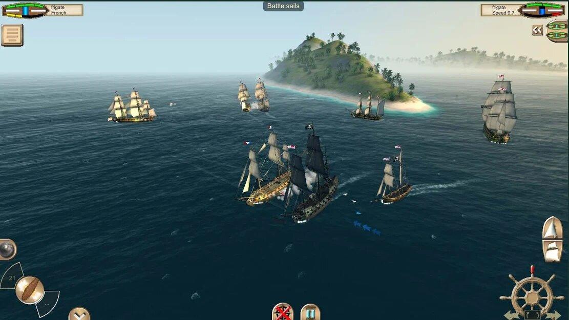 Скачать The Pirate: Caribbean Hunt на Андроид — Мод (Много денег) screen 1