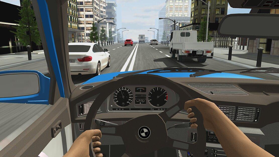 Скачать Racing in Car 2 на Андроид — Мод (Много денег) screen 2