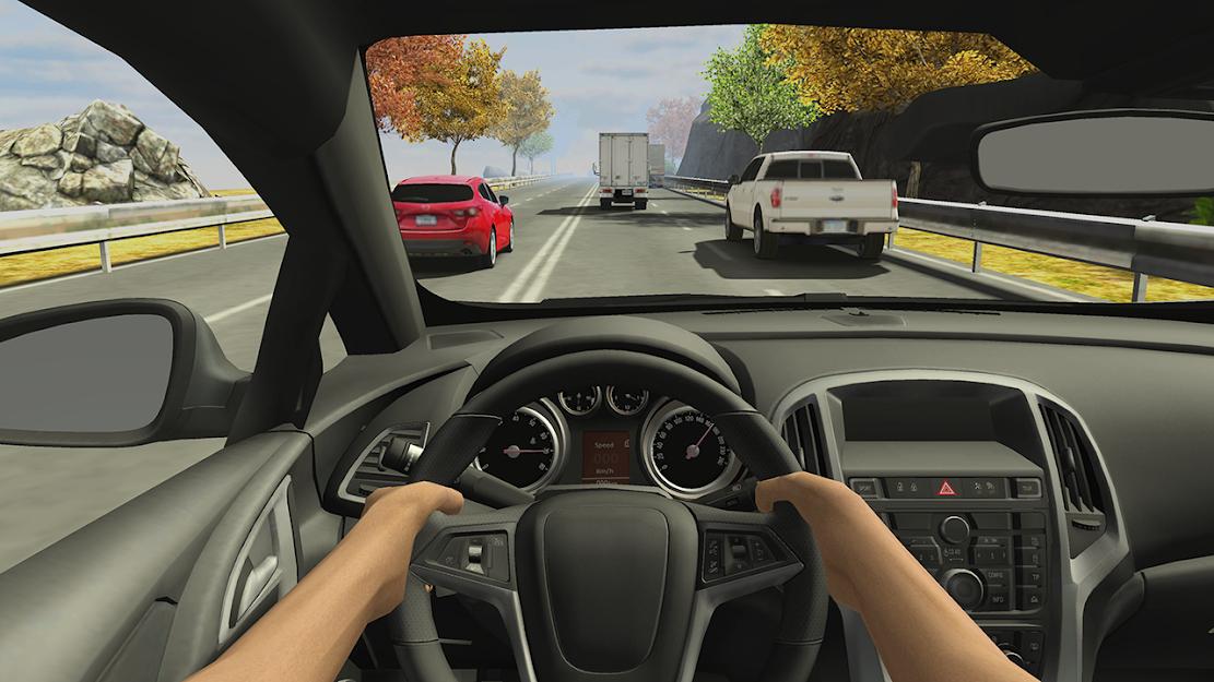Скачать Racing in Car 2 на Андроид — Мод (Много денег) screen 3