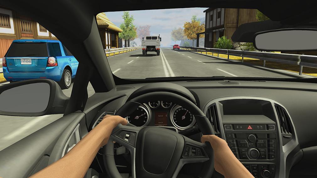 Скачать Racing in Car 2 на Андроид — Мод (Много денег) screen 4
