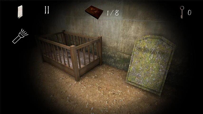 Скачать Slendrina: The Cellar 2 на Андроид — Мод (Полный доступ) screen 1