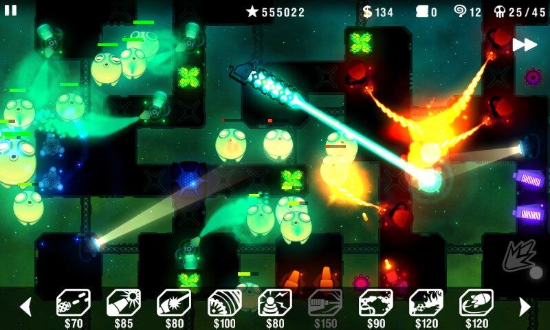 Скачать Radiant Defense на Андроид — Мод (Полный доступ) screen 4