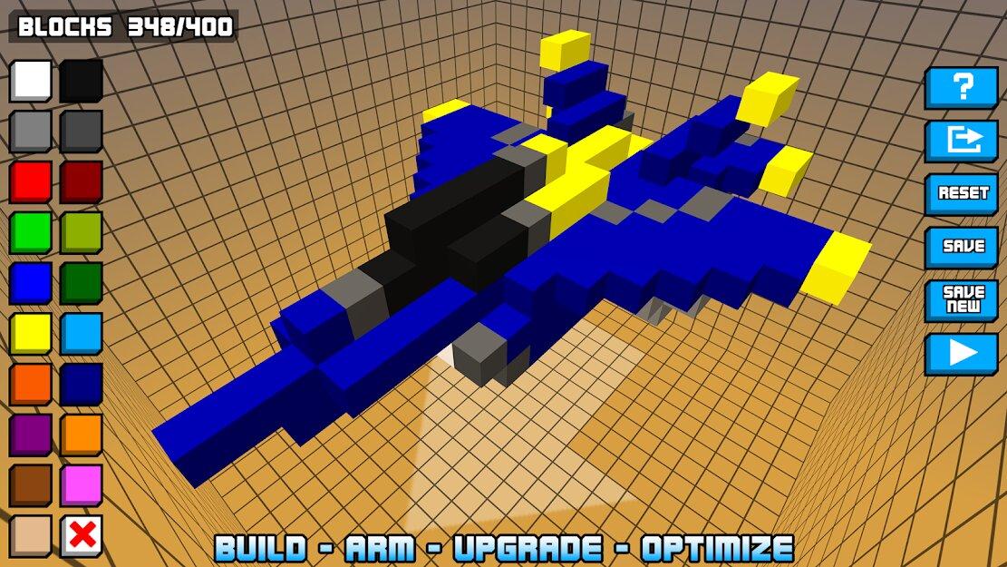 Скачать Hovercraft: истребитель на Андроид — Мод (Много денег) screen 3