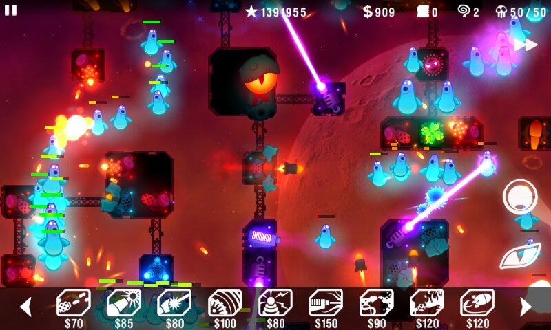 Скачать Radiant Defense на Андроид — Мод (Полный доступ) screen 2