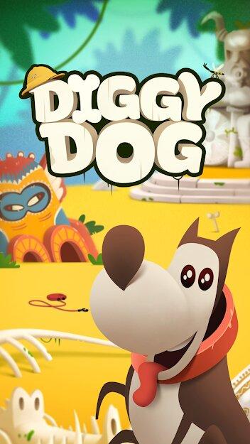 Скачать Мой копающий пес (My Diggy Dog) на Андроид — Мод (Много денег) screen 1